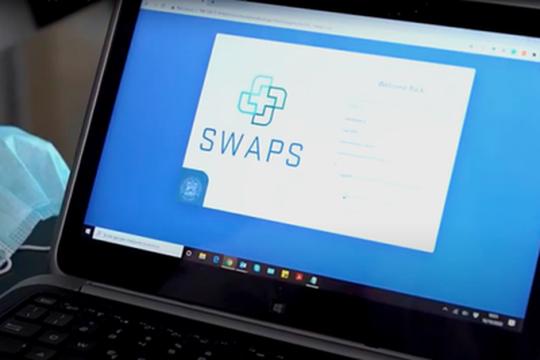 SWAPS: una piattaforma web per la gestione degli operatori sanitari positivi al coronavirus